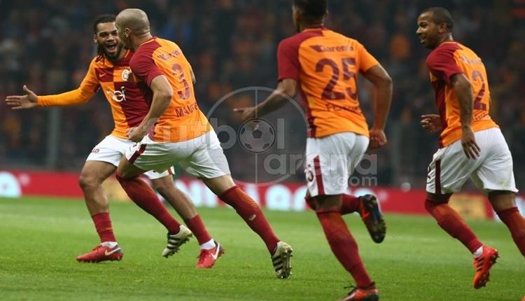 Galatasaray, Süper Lig'de 5 ay sonra 5'ledi