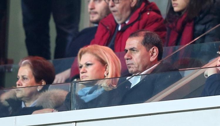 Galatasaray taraftarı Başakşehir'de maç sonu Dursun Özbek'e seslendi! 'Tudor'u gönder başkan.'