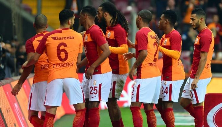 Galatasaray'da 8 farklı isimin ilk Beşiktaş maçı