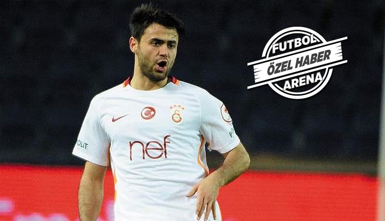 Galatasaray'da Ahmet Çalık, Sivas Belediyespor maçında sahada
