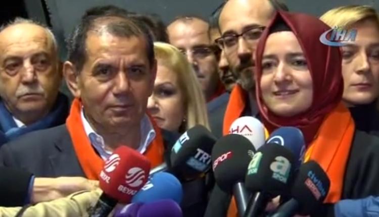Galatasaray'da Dursun Özbek: 'Kadına şiddet vatana ihanettir'