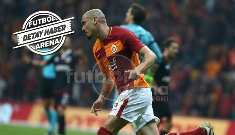 Galatasaray'da Maicon kariyer rekoruna doğru