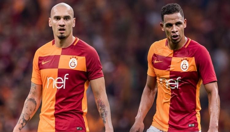 Galatasaray'da Maicon ve Fernando'nun Beşiktaş hazırlığı