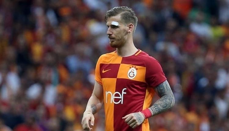 Galatasaray'da Serdar Aziz'in elmacık kemiğini kırıldı