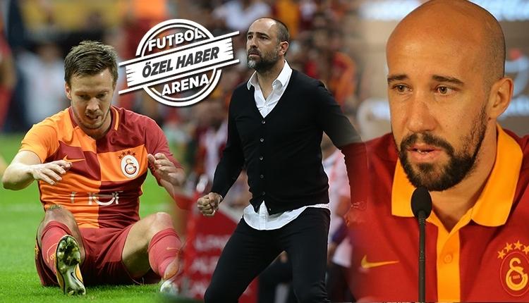 Galatasaray'da Tudor sol bek tercihini yaptı