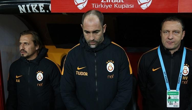 Galatasaray'da Tudor'dan flaş Tarık Çamdal açıklaması