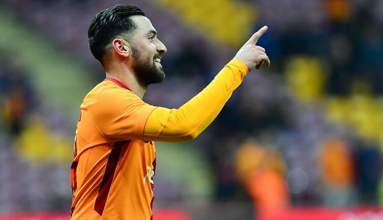 Galatasaray'da Türkiye Kupası golcüsü Sinan Gümüş