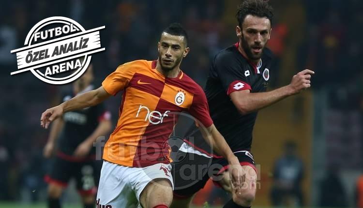 Galatasaray'da Younes Belhanda şov!