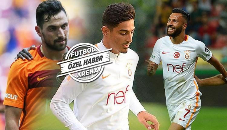 Galatasaray'da 3 oyuncu için transfer kararı