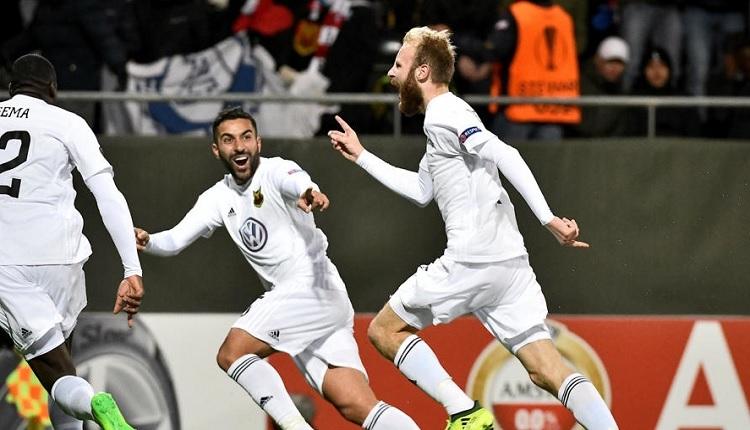 Galatasaray'ı eleyen Östersunds Avrupa'da bir kez daha tarih yazdı