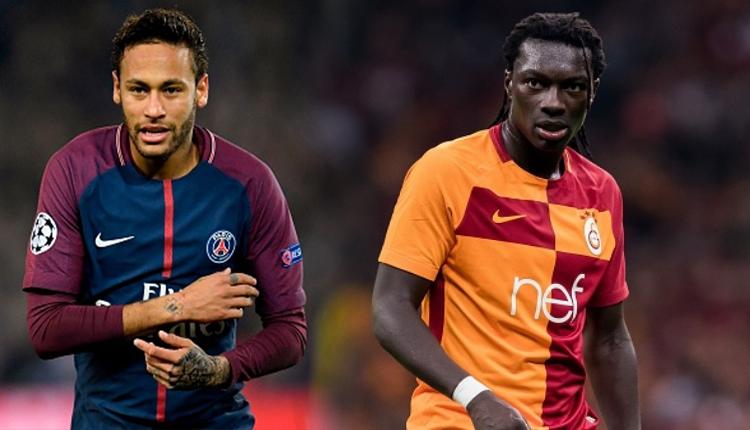 Galatasaraylı Bafetimbi Gomis, Neymar'ı solladı