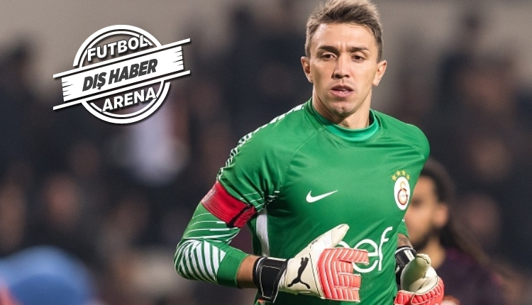 Galatasaraylı Fernando Muslera'ya River Plate talip