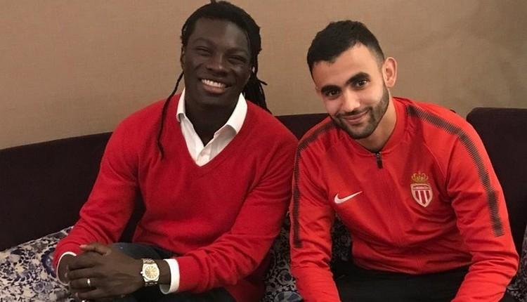 Galatasaraylı Gomis'ten Monaco'lu Ghezzal'a Beşiktaş mesajı