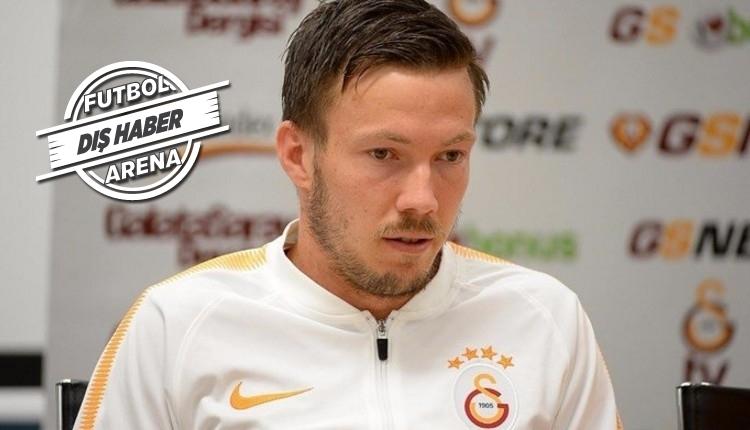 Galatasaraylı Martin Linnes tehdit aldığını açıkladı