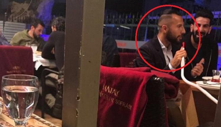 Galatasaraylı Yasin Öztekin'in görüntüsü taraftarları çıldırttı