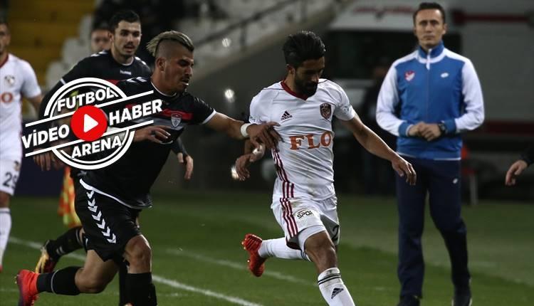 Gazişehir Gaziantepspor 2-0 Manisaspor maçı özeti ve golleri (İZLE)