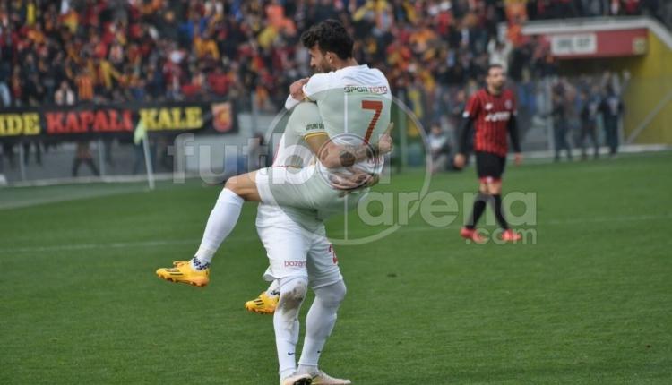 Gençlerbirliği 1 - Kayserispor 2 maç özeti ve golleri (İZLE)