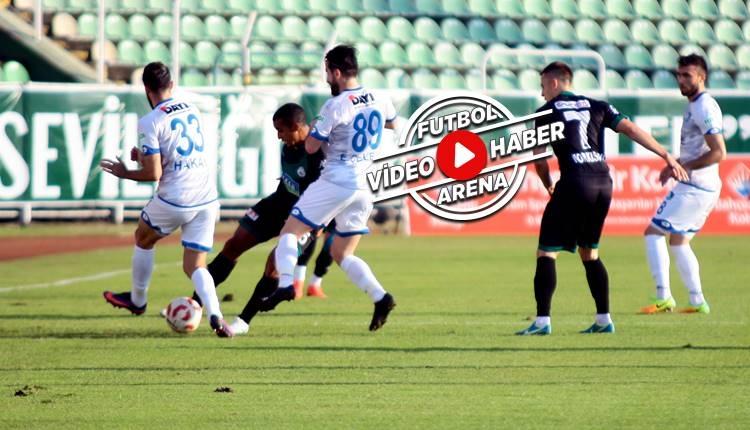 Giresunspor 2-0 BB Erzurumspor maçı özeti ve golleri (İZLE)
