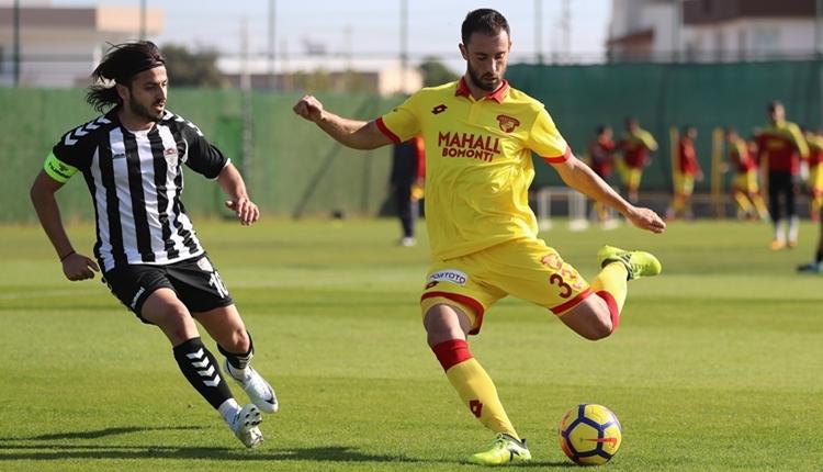 Göztepe 2-0 Manisaspor hazırlık maçı özeti ve golleri