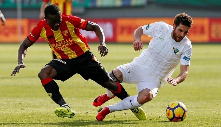 Göztepe 2 - 0 Akhisarspor maç özeti ve golleri (İZLE)