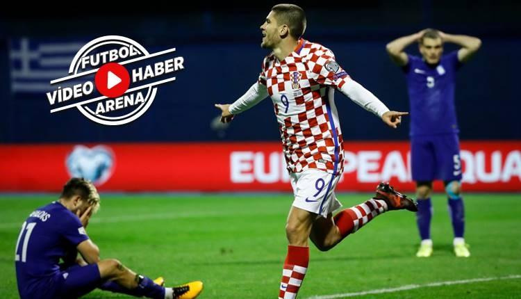 Hırvatistan 4-1 Yunanistan maçı özeti ve golleri (İZLE)