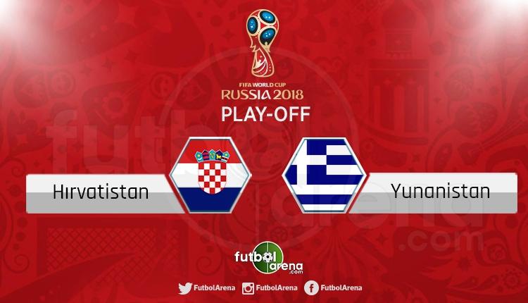 Hırvatistan Yunanistan canlı skor, maç sonucu - Maç hangi kanalda?