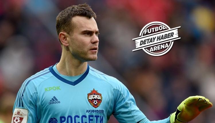 Igor Akinfeev 46 maçlık gol yeme serisine son verdi