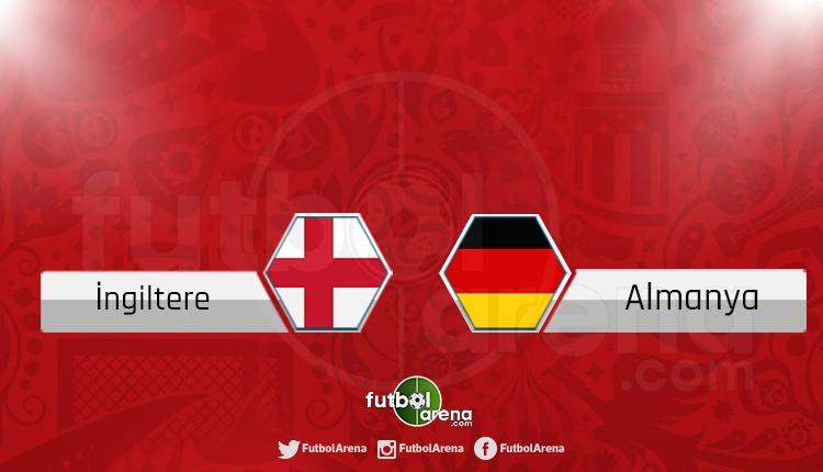 İngiltere - Almanya canlı skor, maç sonucu - Maç hangi kanalda?