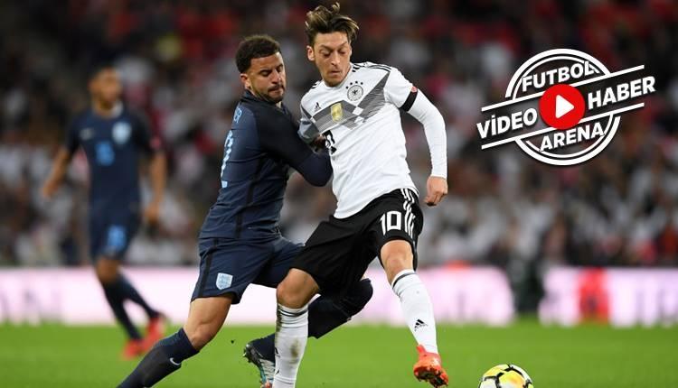 İngiltere - Almanya maçı özeti (İZLE)