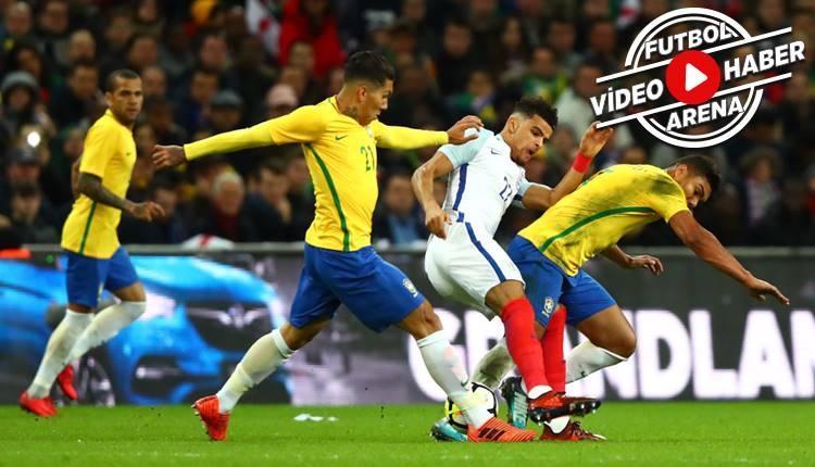 İngiltere - Brezilya maçı özeti (İZLE)