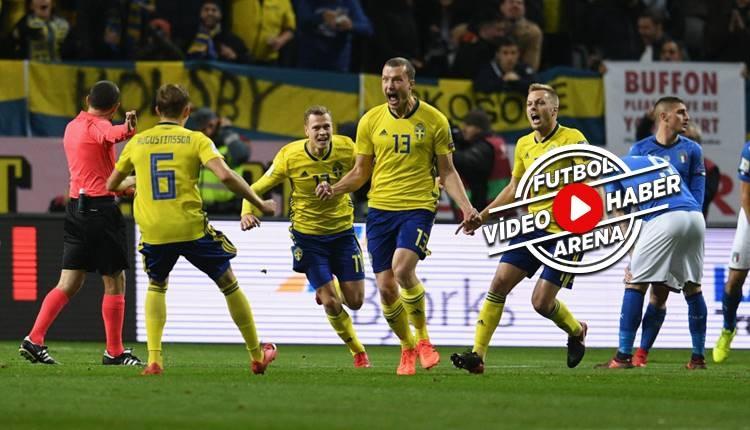 İsveç 1-0 İtalya maçı özeti ve golü (İZLE)