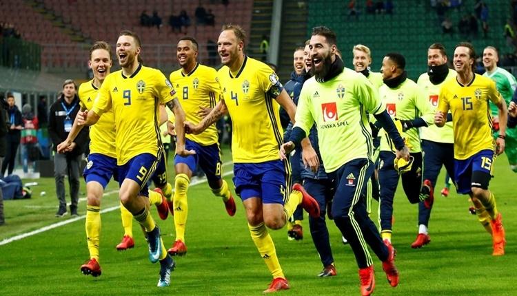 İsveçli futbolculara ülkelerinde kahraman vurgusu