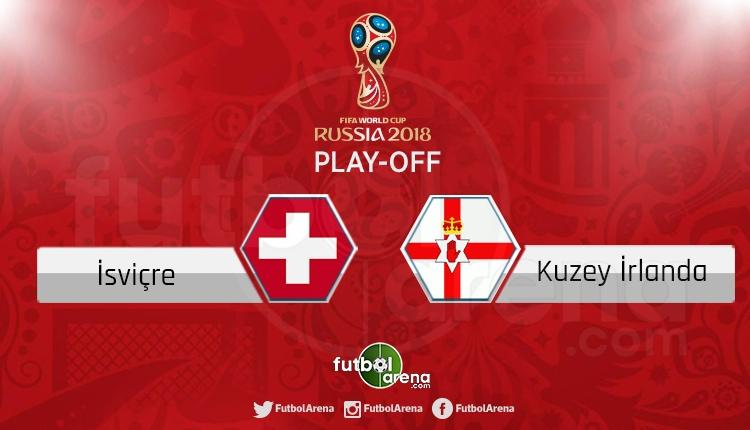 İsviçre Kuzey İrlanda canlı skor, maç sonucu - Maç hangi kanalda?