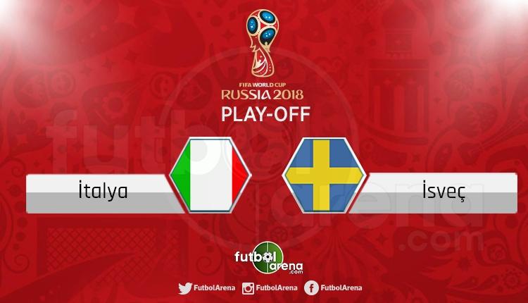 İtalya - İsveç canlı skor, maç sonucu - Maç hangi kanalda?