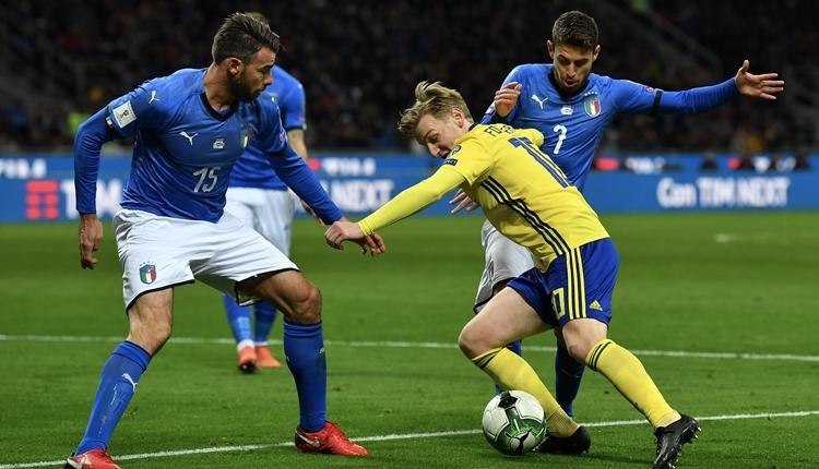 İtalya şokta! İsveç, 2018 Dünya Kupası'nda