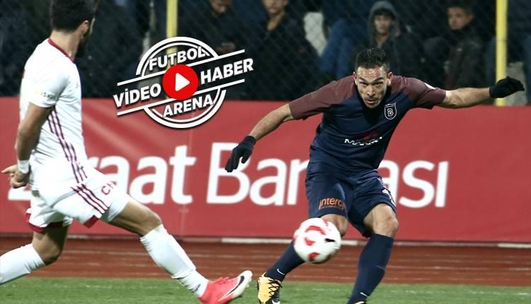 Kahramanmaraşspor 1-3 Başakşehir maçı özeti ve golleri (İZLE)