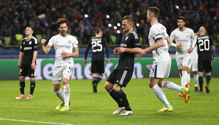 Karabağ 0-4 Chelsea maç özeti ve golleri (İZLE)