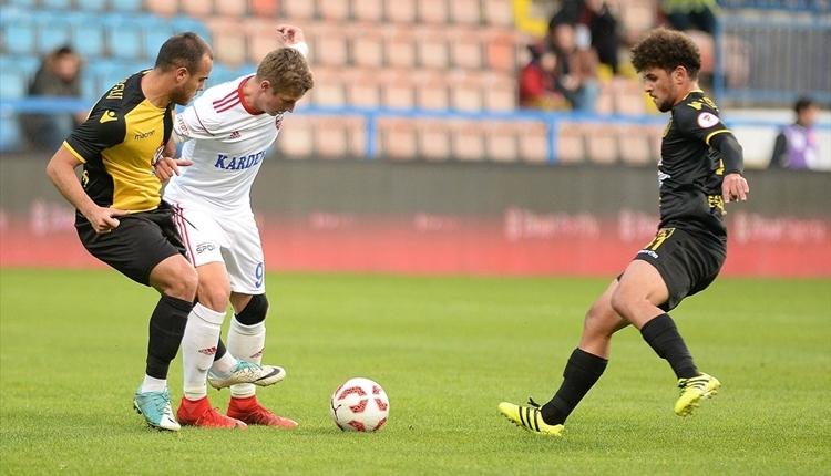Karabükspor 2-1 İstanbulspor maç özeti ve golleri (İZLE)