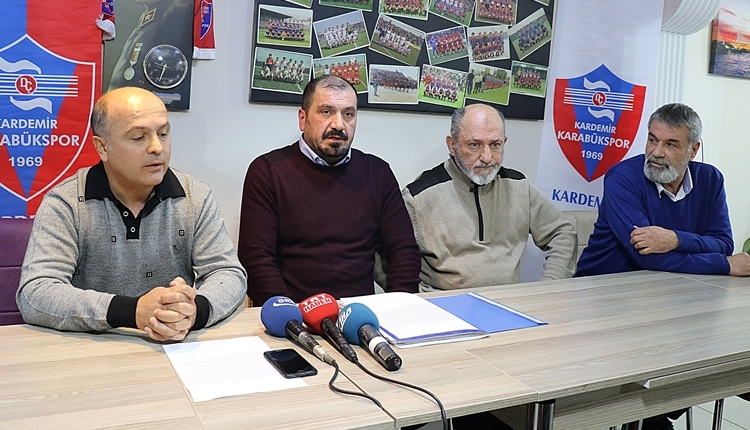 Karabükspor'da esnaf Mehmet Aytekin başkan adaylığını açıkladı