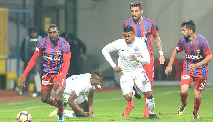 Kardemir Karabükspor 0-2 Kasımpaşa maç özeti ve golleri (İZLE)