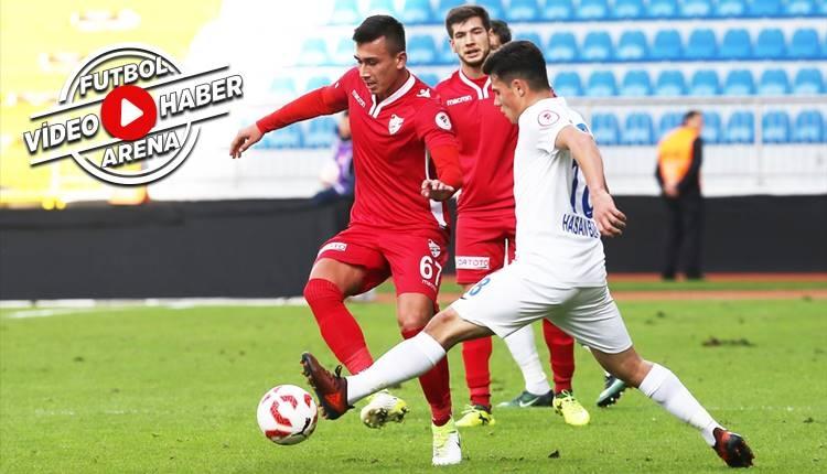 Kasımpaşa 1-3 Boluspor maçı özeti ve golleri (İZLE)