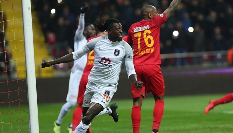 Kayserispor 1-1 Medipol Başakşehir maç özeti ve golleri (İZLE)