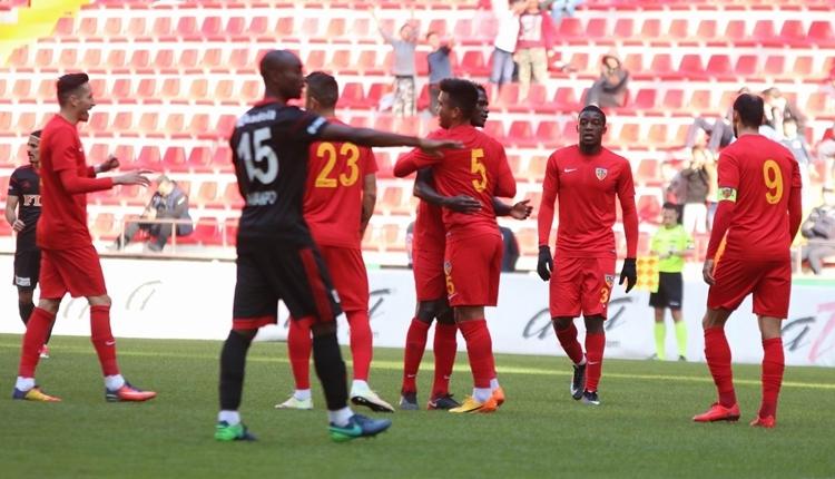 Kayserispor 2-1 Gazişehir Gaziantep hazırlık maçı özeti ve golleri