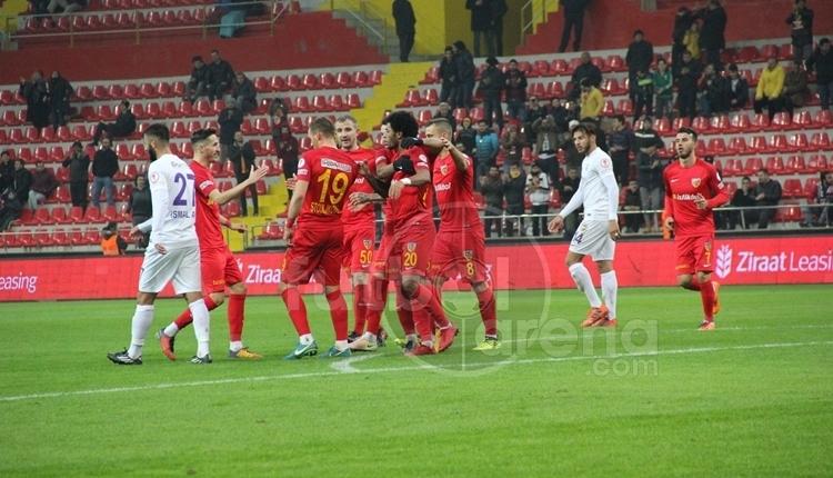 Kayserispor 3-2 Eyüpspor maç özeti ve golleri (İZLE)
