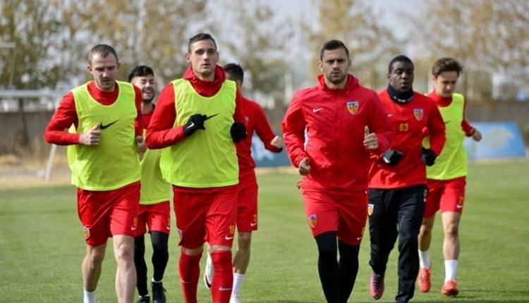 Kayserispor'da Gençlerbirliği maçı öncesi keyifler yerinde