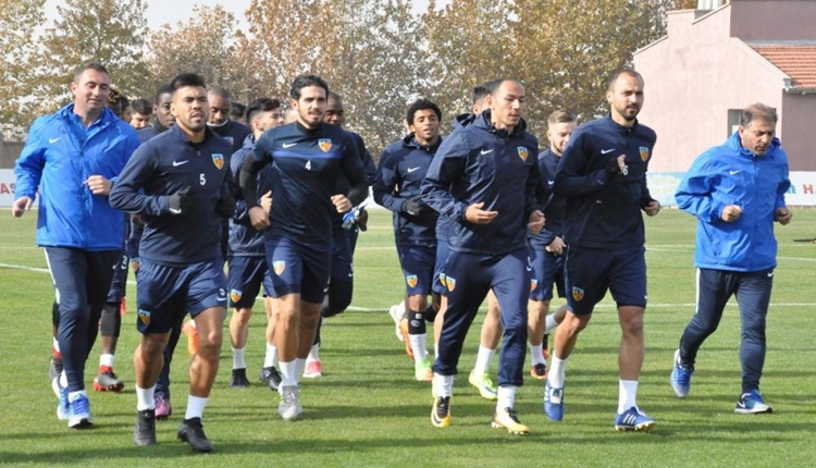 Kayserispor'da Medipol Başakşehir maçı öncesi sıcak gelişmeler