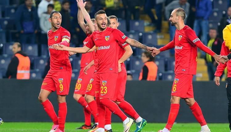 Kayserispor'da Milli Takım sevinci