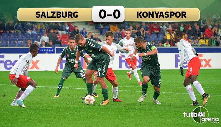 Salzburg 0-0 Atiker Konyaspor maç özeti (İZLE)