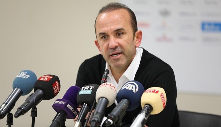 Konyaspor'da Mehmet Özdilek'ten penaltı tepkisi