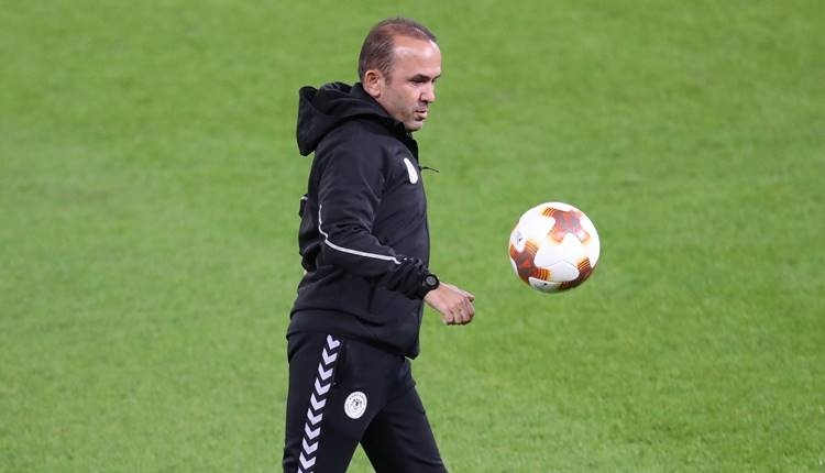 Konyaspor'da Mehmet Özdilek'ten Salzburg yorumu